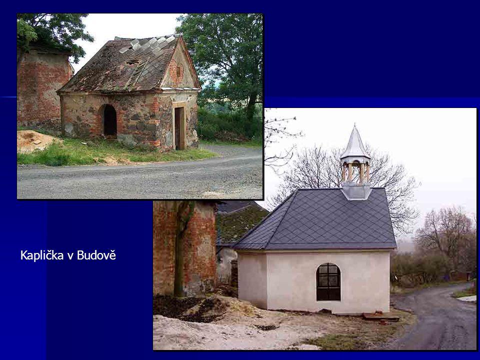 Kaplička v Budově