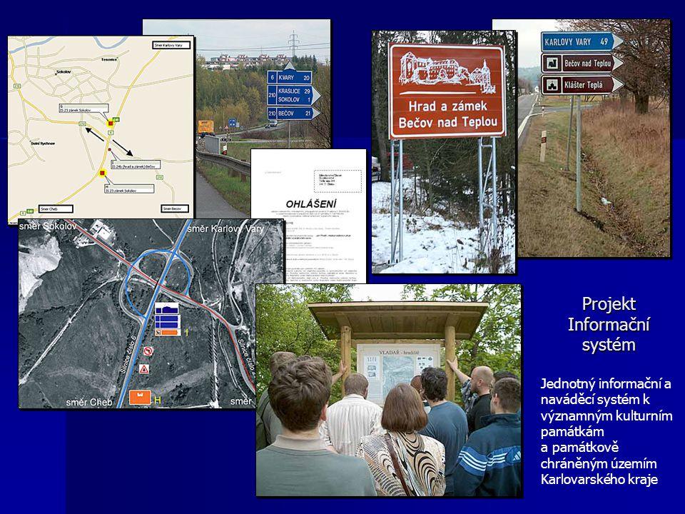 Projekt Informační systém Jednotný informační a naváděcí systém k významným kulturním památkám a památkově chráněným územím Karlovarského kraje
