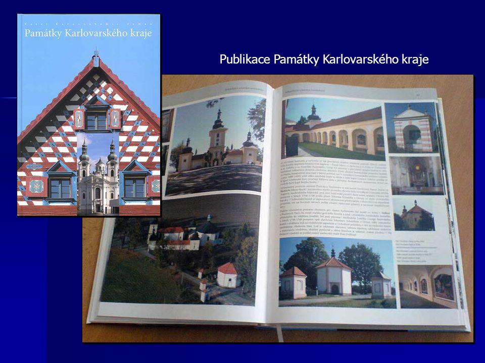 Publikace Památky Karlovarského kraje