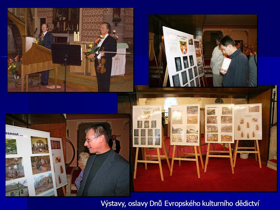 Výstavy, oslavy Dnů Evropského kulturního dědictví