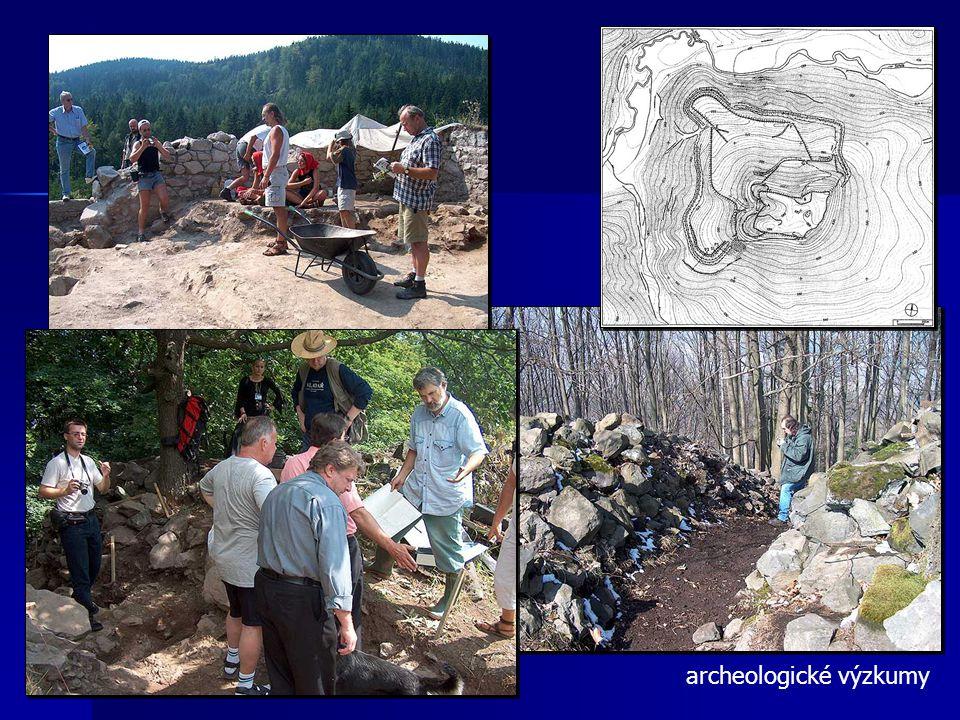 archeologické výzkumy