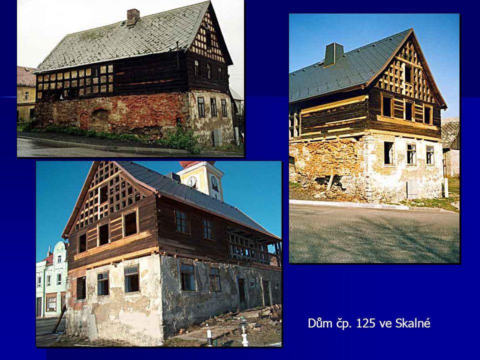 Památky v havarijním stavu Brložec Javorná Hazlov Hřebeny