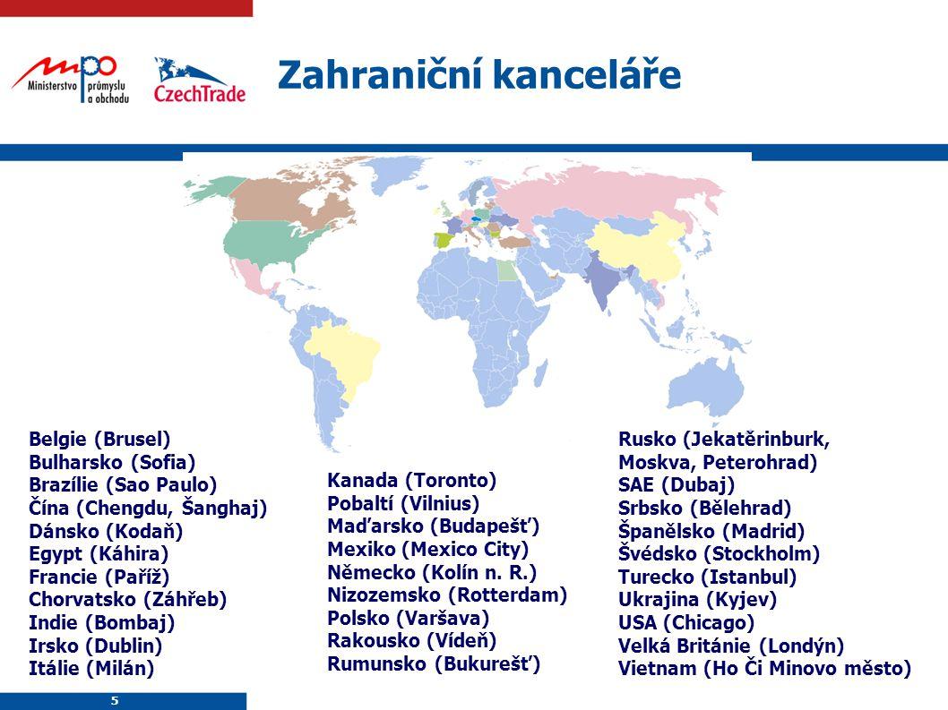 5 5 Belgie (Brusel) Bulharsko (Sofia) Brazílie (Sao Paulo) Čína (Chengdu, Šanghaj) Dánsko (Kodaň) Egypt (Káhira) Francie (Paříž) Chorvatsko (Záhřeb) I