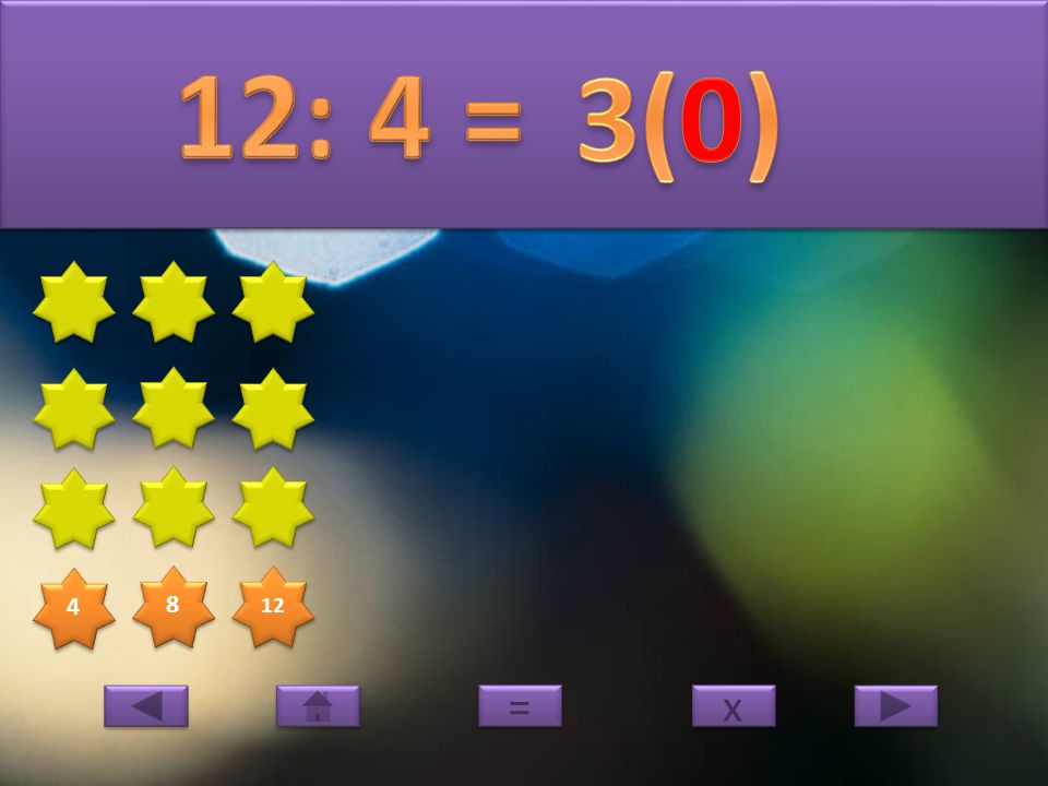 4 4 8 8 x x = =