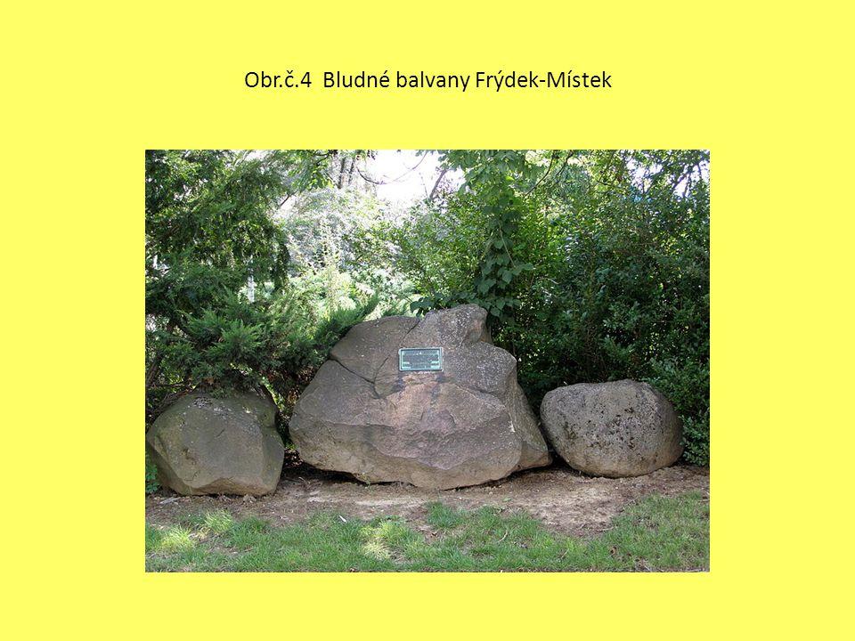 Obr.č.4 Bludné balvany Frýdek-Místek
