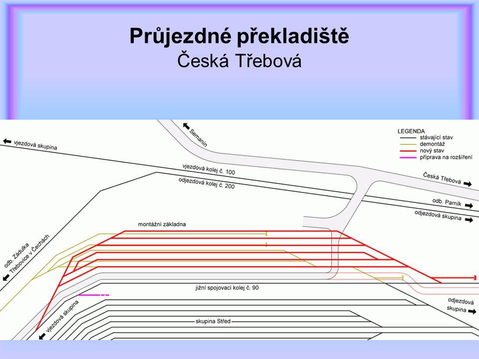 Průjezdné překladiště Česká Třebová