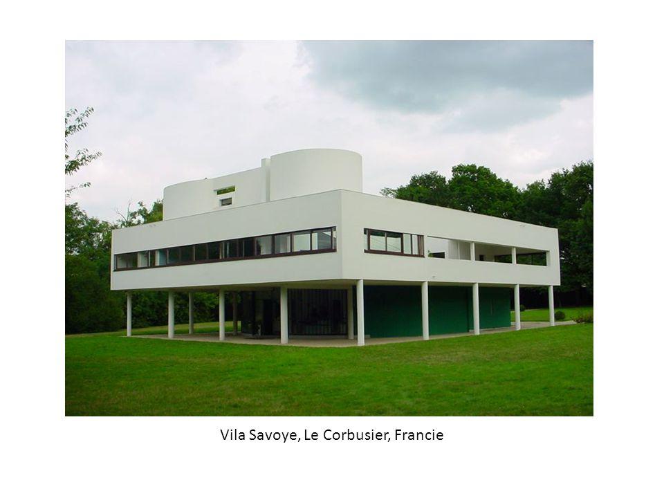 Vila Savoye, Le Corbusier, Francie