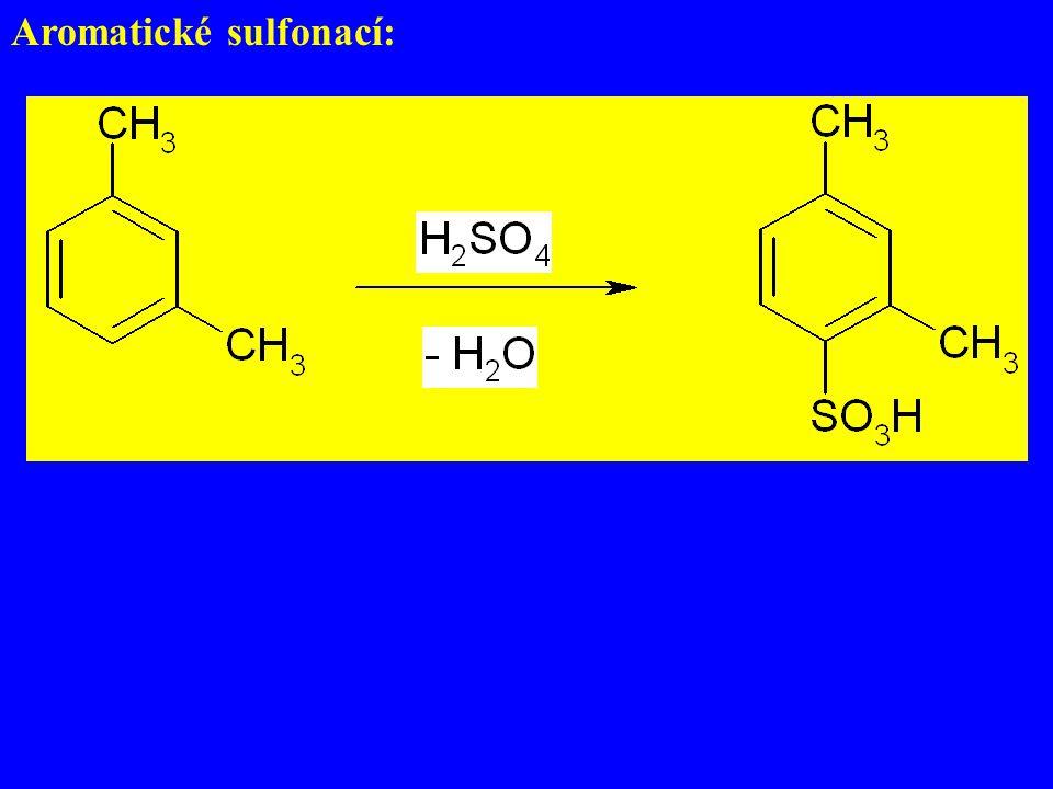 Aromatické sulfonací: