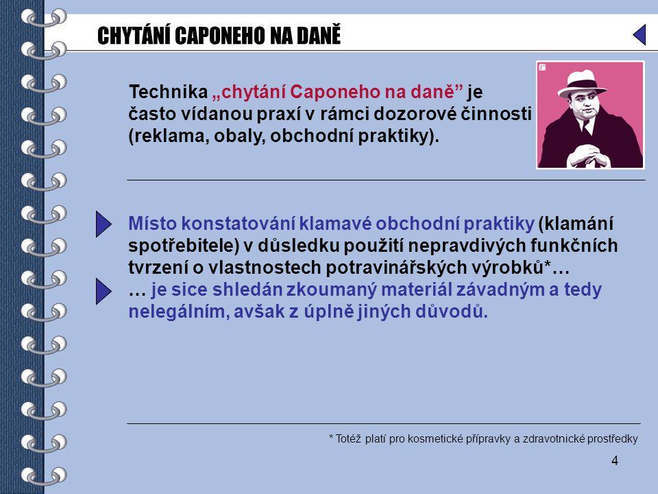 25 Zdravotní tvrzení dle čl.