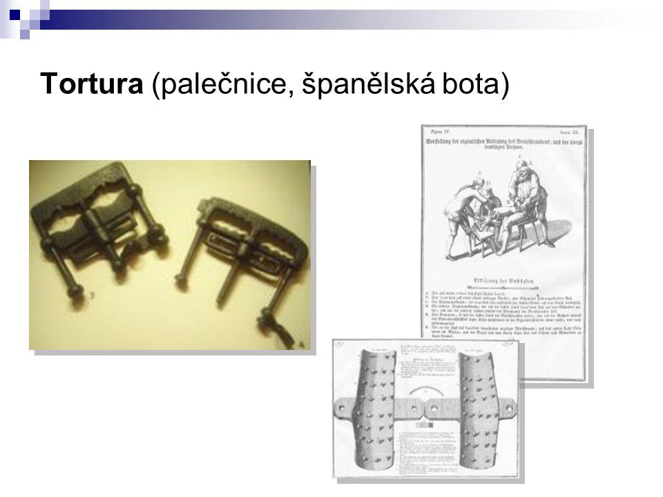 Tortura (palečnice, španělská bota)