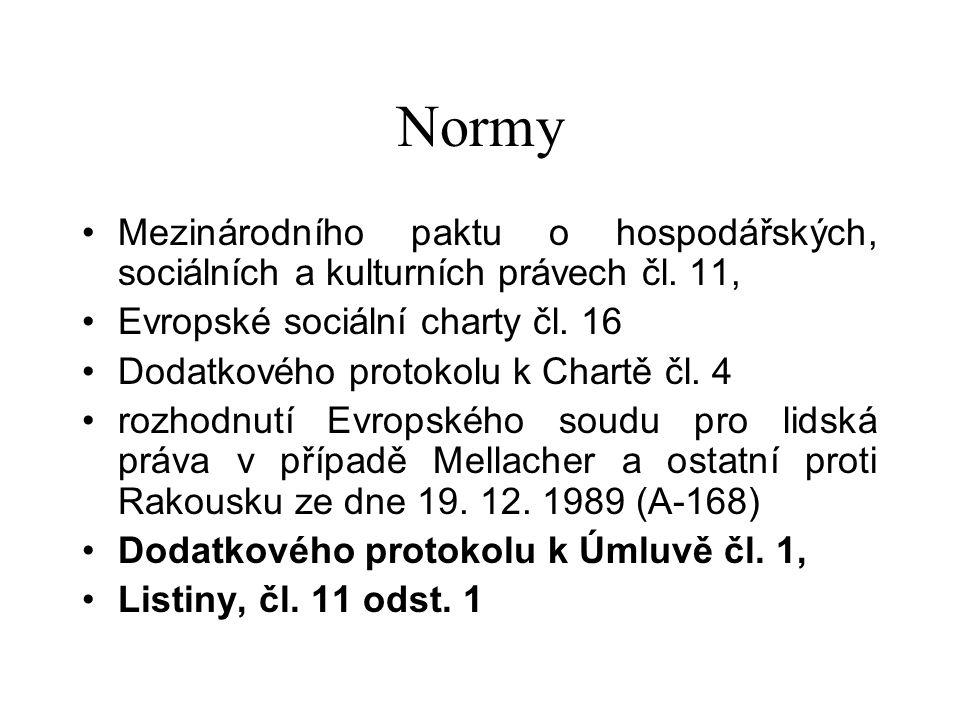 Normy Mezinárodního paktu o hospodářských, sociálních a kulturních právech čl.