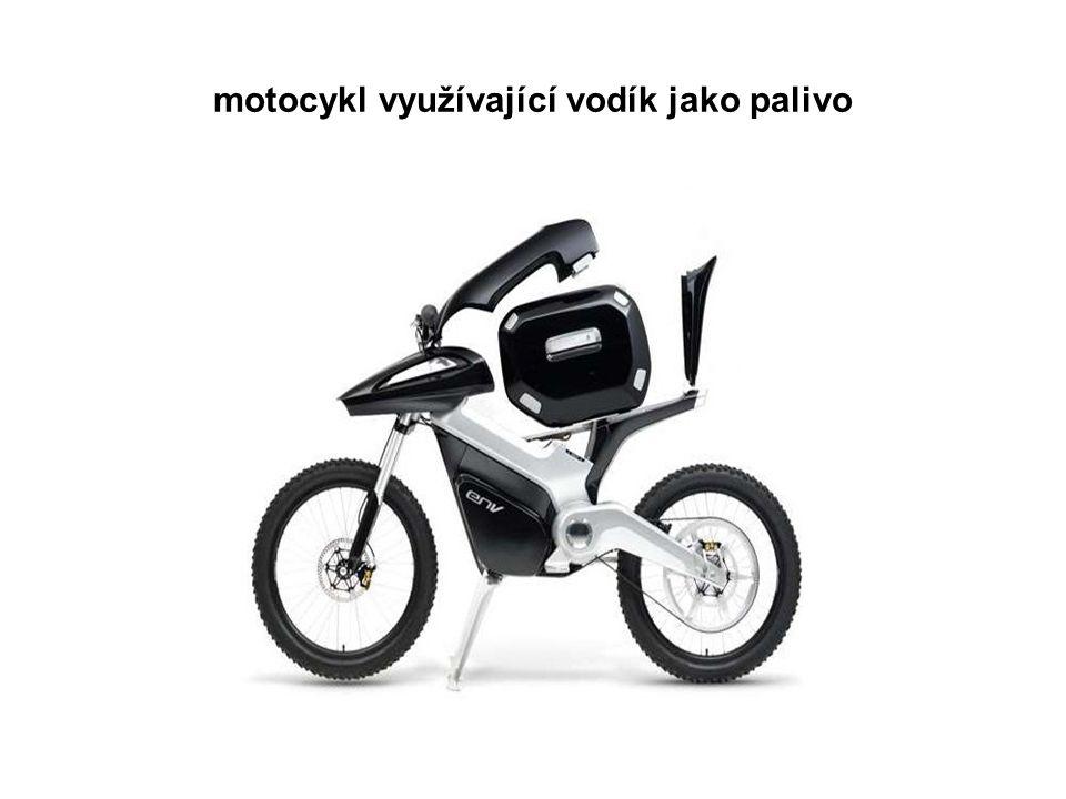 motocykl využívající vodík jako palivo