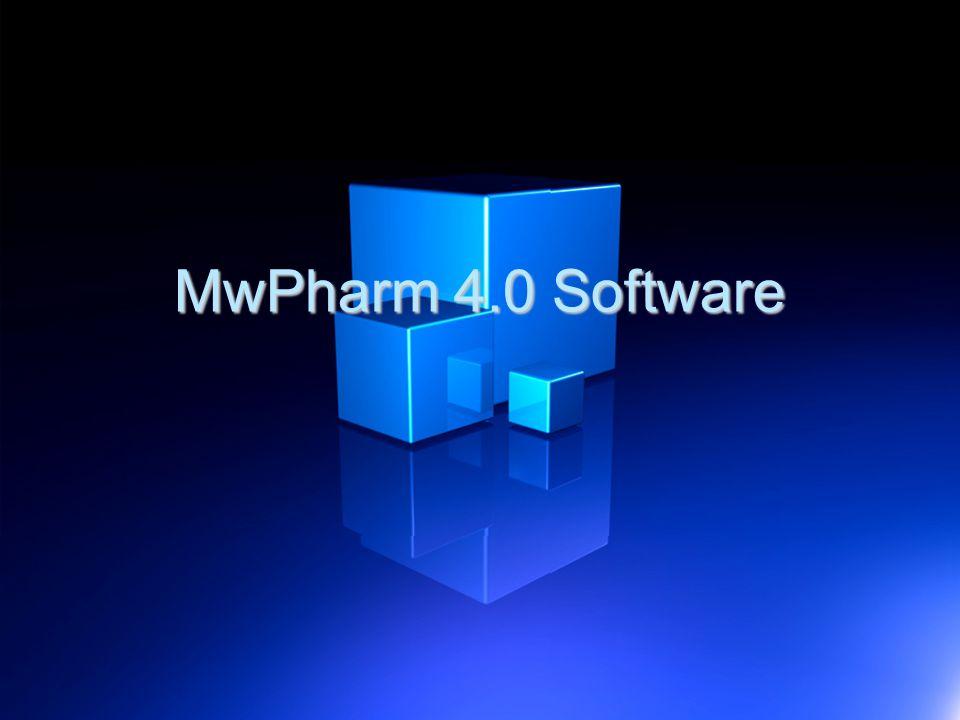 MwPharm 4.0 Software