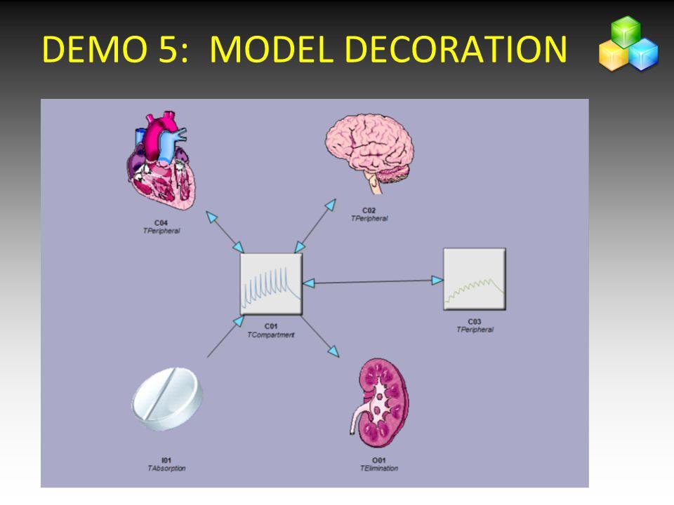 DEMO 5: MODEL DECORATION