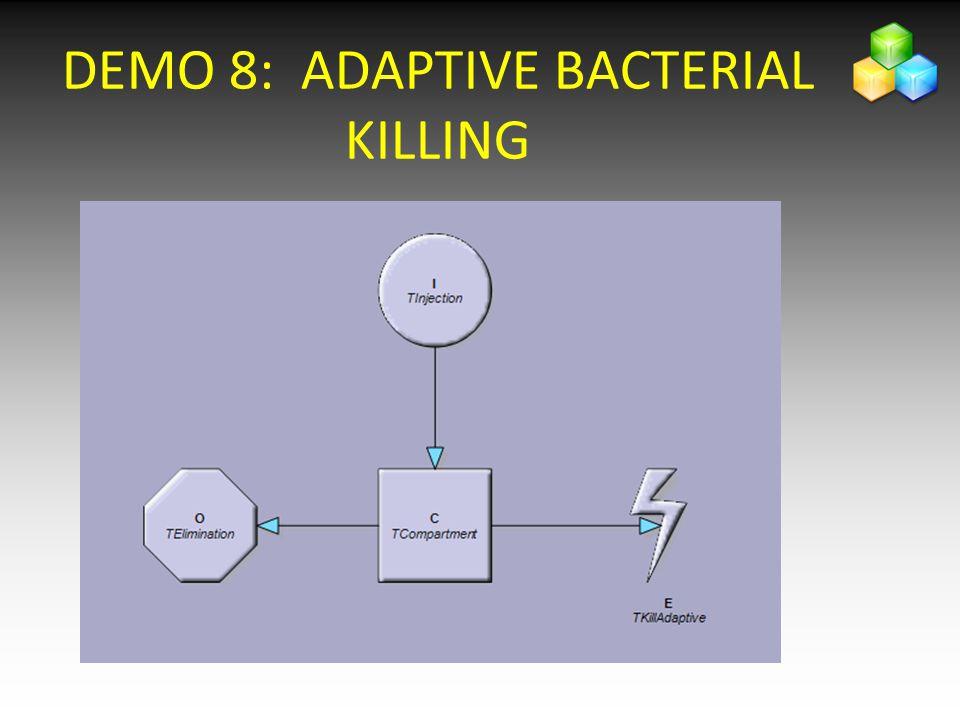 DEMO 8: ADAPTIVE BACTERIAL KILLING