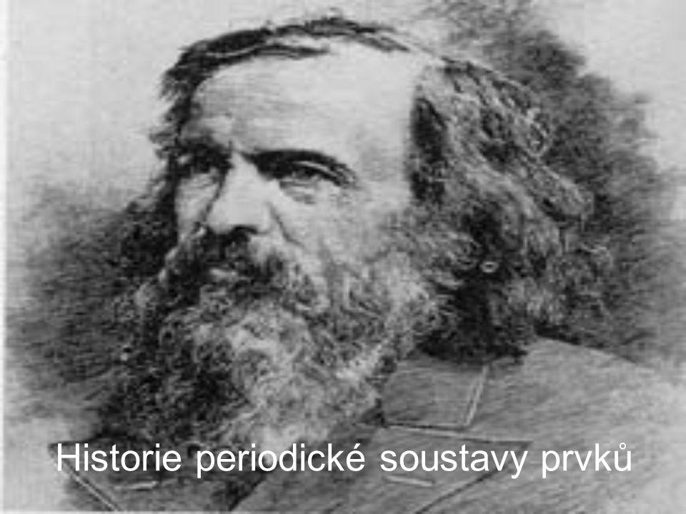 Historie periodické soustavy prvků