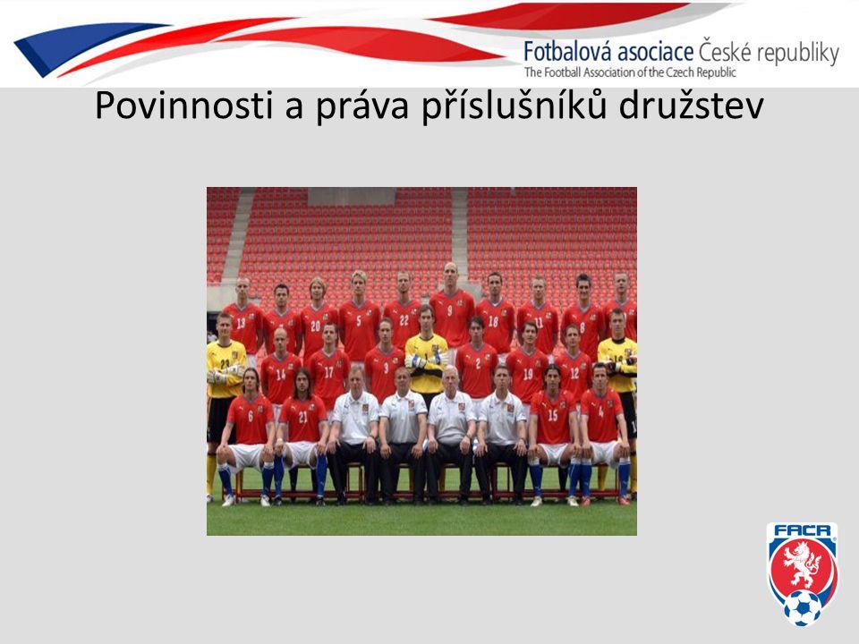 Kapitán mužstva Kapitán družstva je povinen Dbát spolu s vedoucím, trenérem a asistentem družstva na kázeň a pořádek v družstvu.