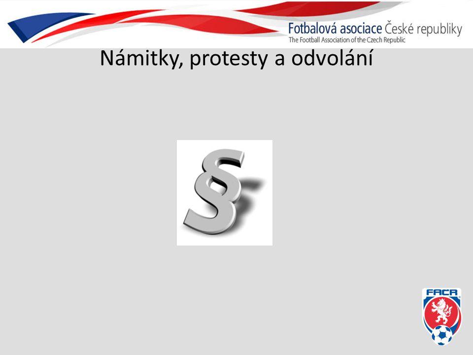 Námitky, protesty a odvolání