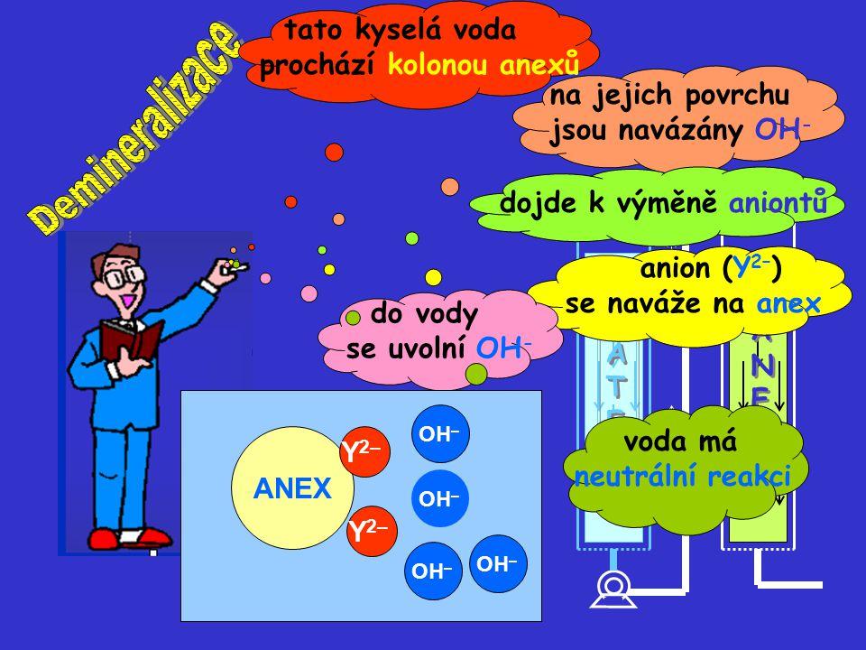 ANEX Y 2– OH – Y 2– ANEX Y 2–.