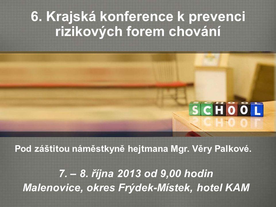 Preventivní program školy Základní, střední a vyšší odborné školy mj.