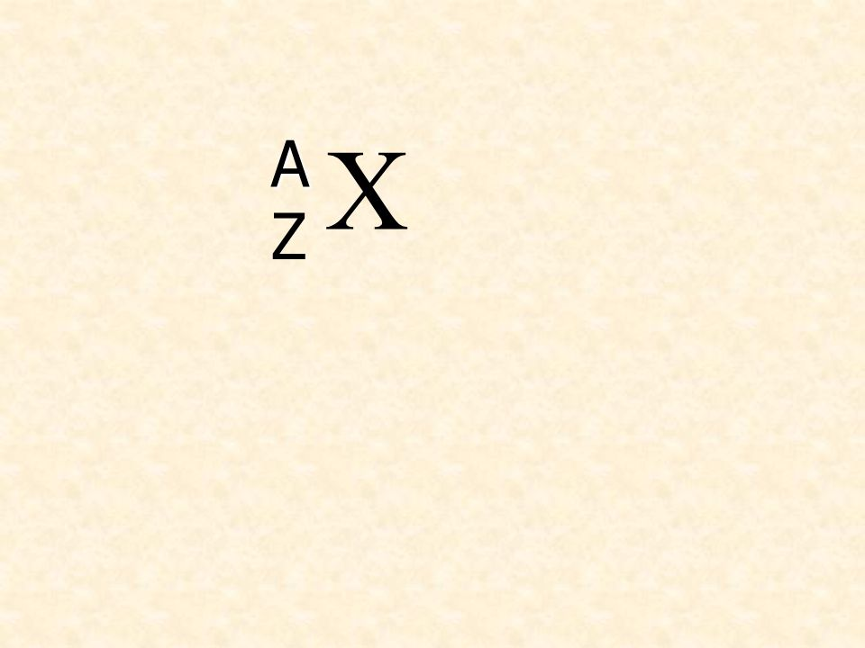 X Z A
