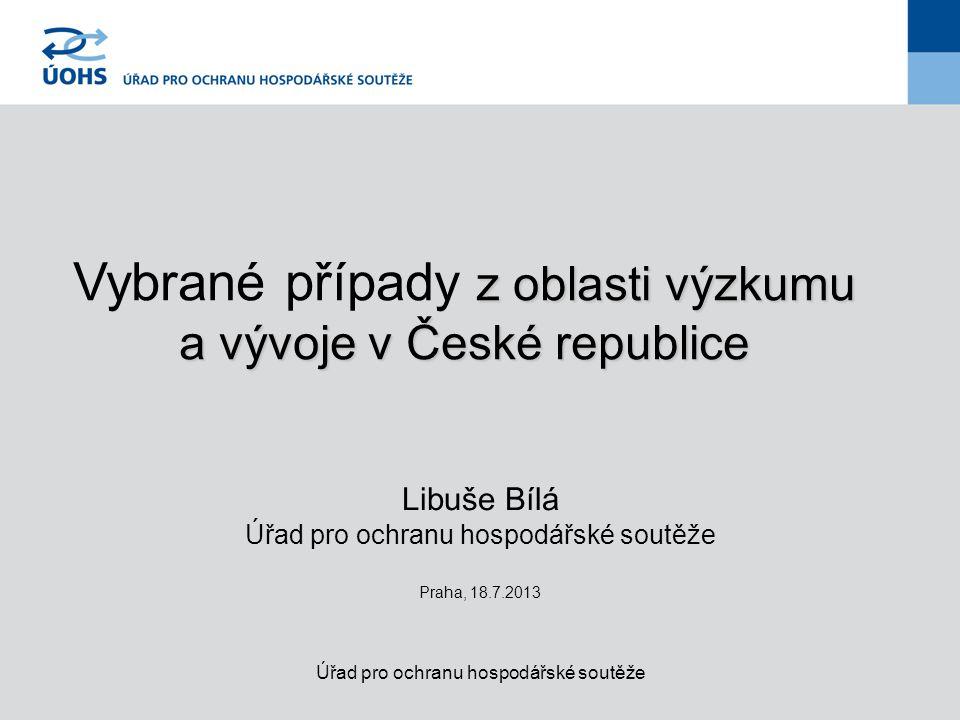 Postup při aplikaci pravidel VP (Pre)notifikace EK pokud nelze aplikovat de minimis/nařízení Komise č.