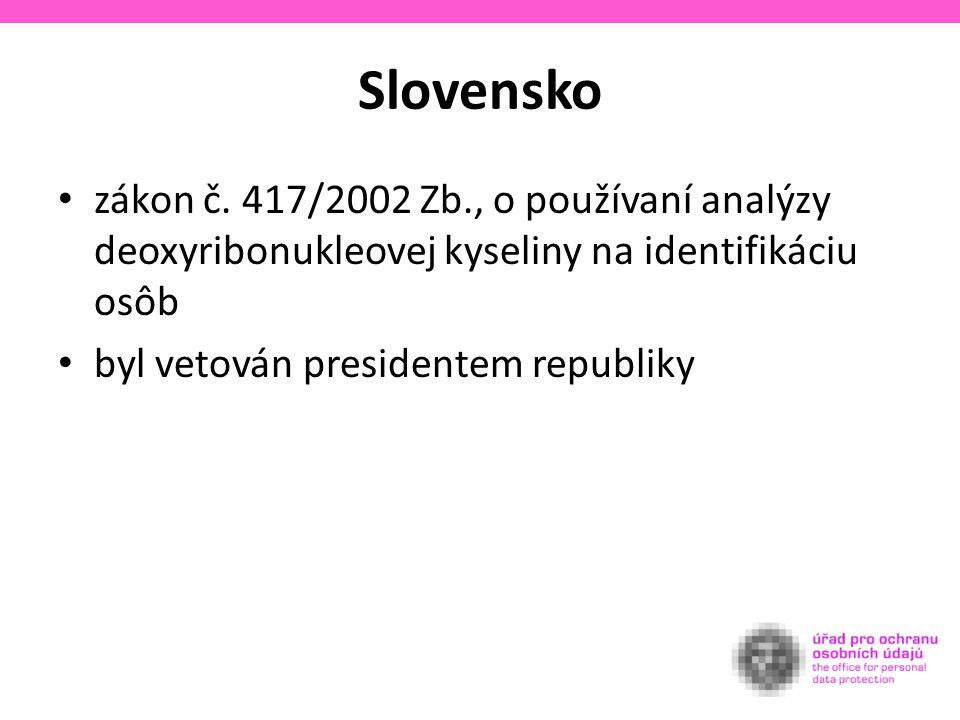 Slovensko zákon č.