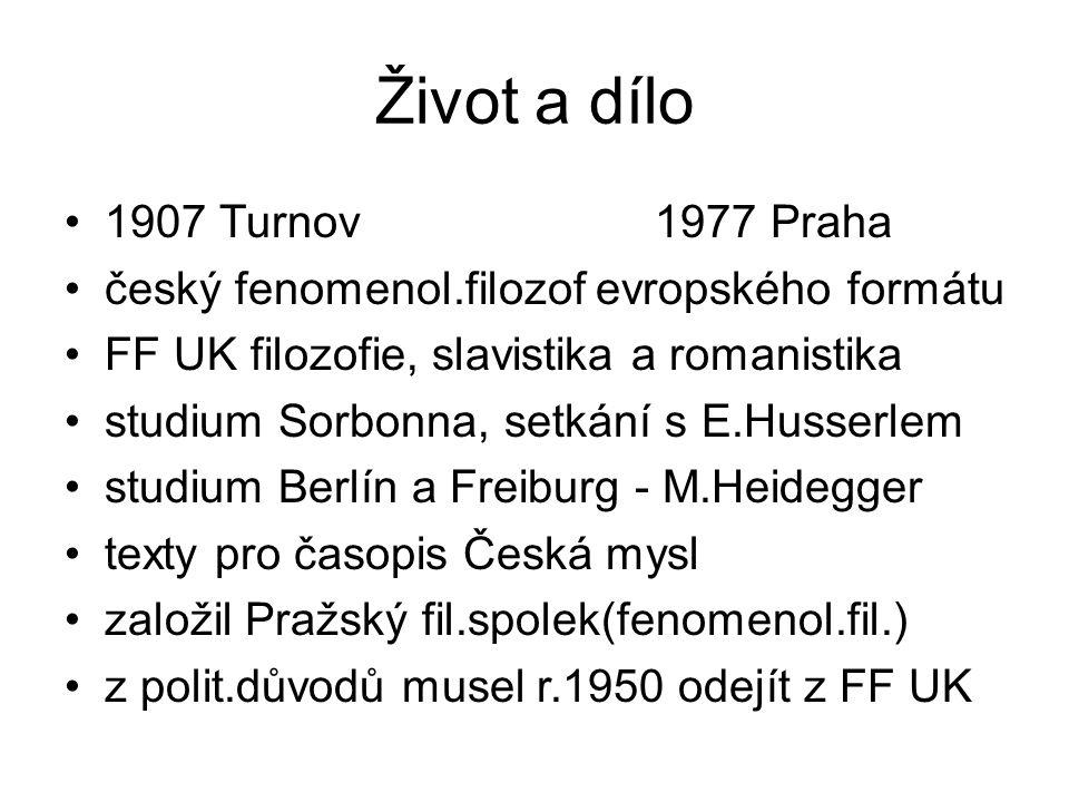 pracoval v Ústavu T.G.Masaryka a po jeho zrušení v Ped.ústavu J.A.Komenského Fil.ústav ČSAV řádný prof.