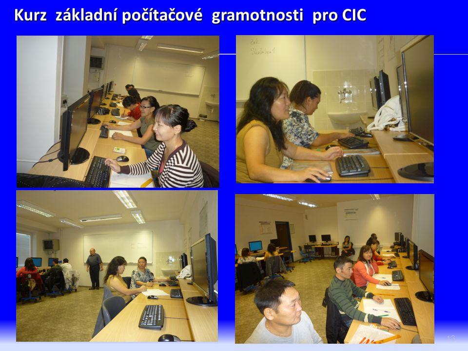 13 Kurz základní počítačové gramotnosti pro CIC