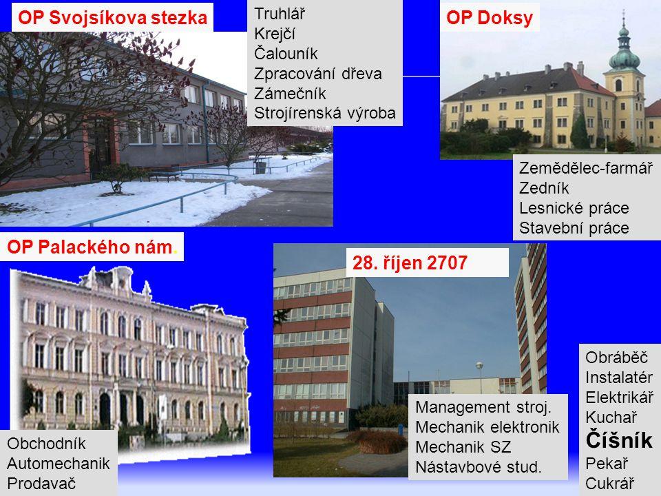 3 Rok 1998 – 1.vlna optimalizace SOU čs. uranového průmyslu ISŠ Tovární ul.