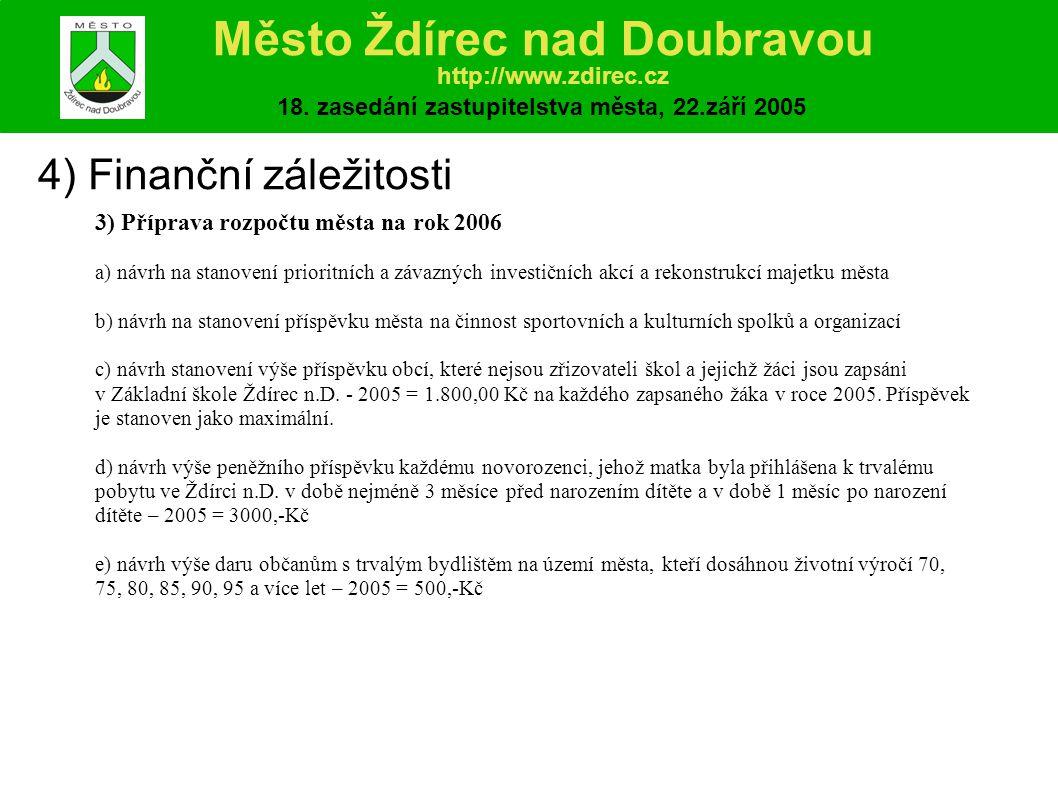 7) Úprava stanov Svazku obcí Podoubraví Město Ždírec nad Doubravou http://www.zdirec.cz 18.