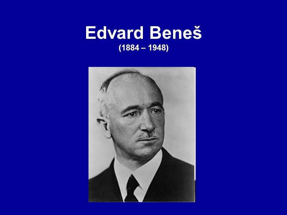 Edvard Beneš (1884 – 1948)
