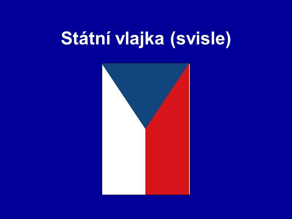 Státní vlajka (svisle)