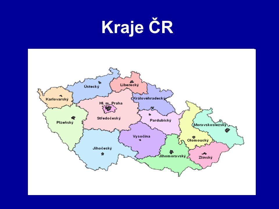 Kraje ČR