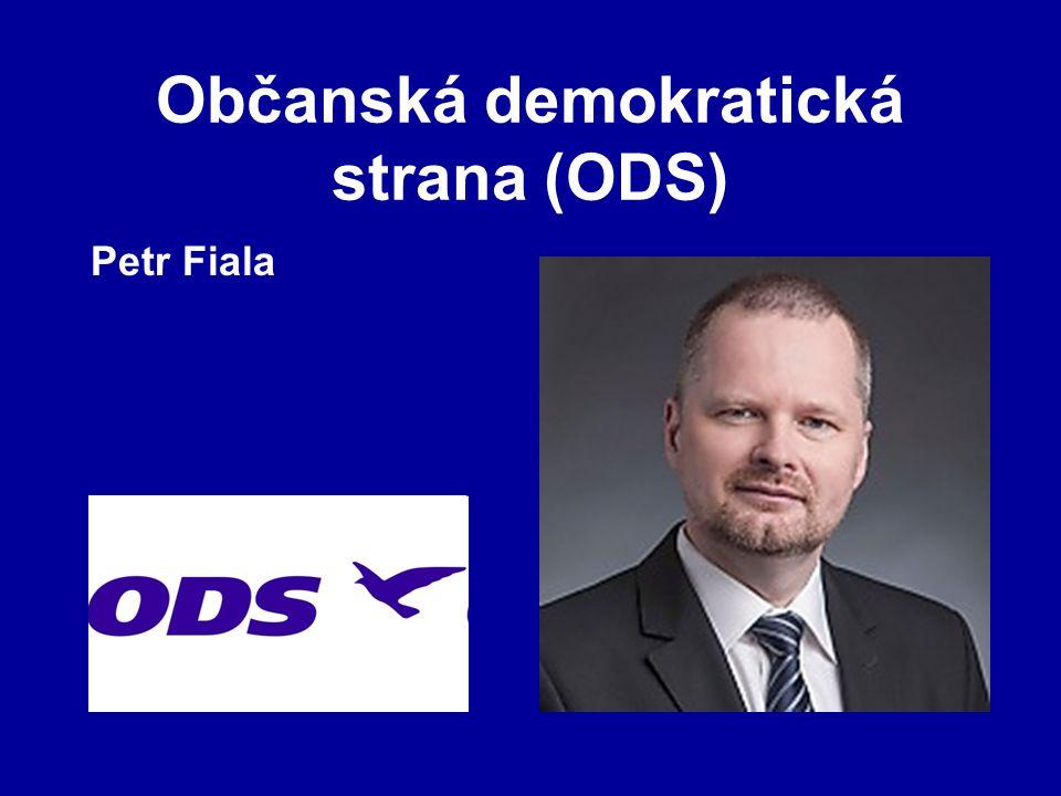 Občanská demokratická strana (ODS) Petr Fiala