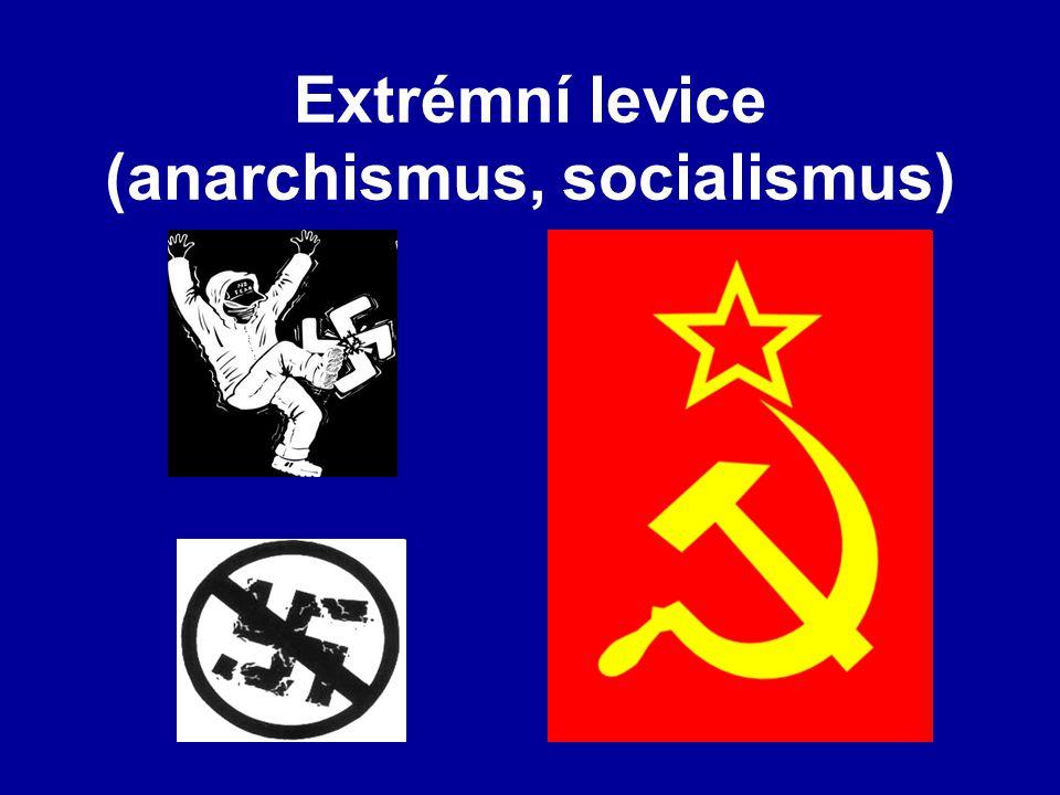 Extrémní levice (anarchismus, socialismus)
