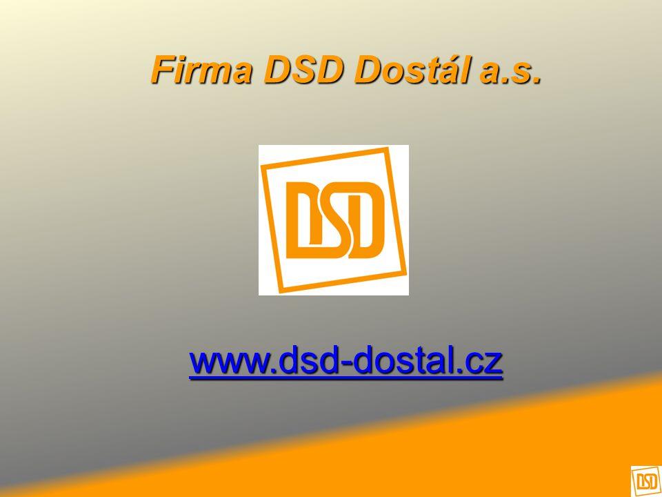 Firma DSD Dostál a.s. www.dsd-dostal.cz