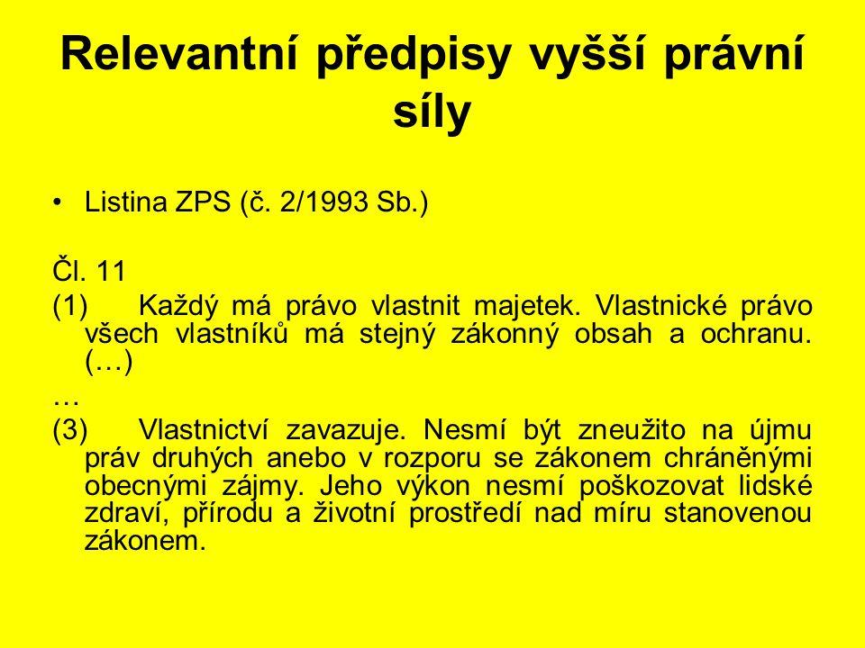Stavební řízení (§ 109 - 115) Vyloučení občanských sdružení by bylo v rozporu s § 90/4 z.č.