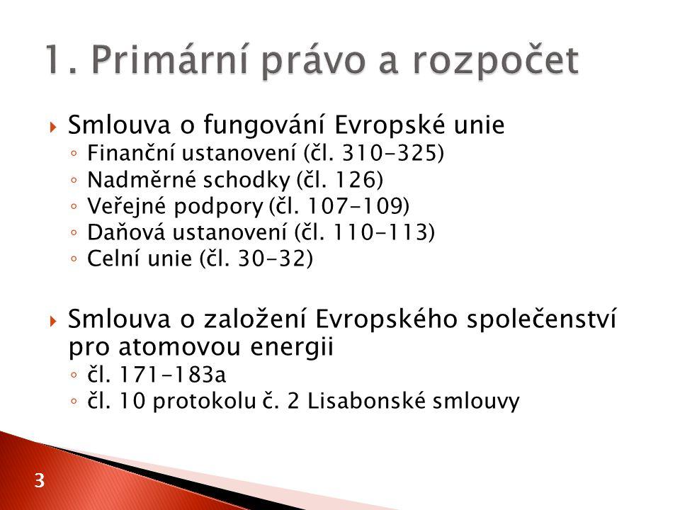 14  čl.322  Nařízení (EU, EURATOM) č. 966/2012 Evropského parlamentu a Rady ze dne 25.