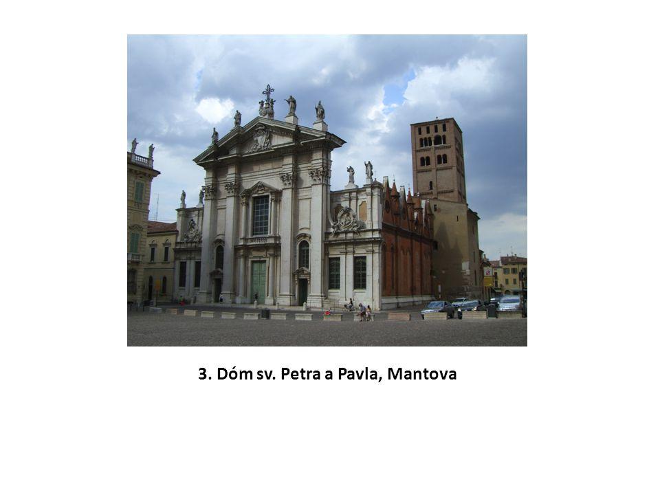 3. Dóm sv. Petra a Pavla, Mantova