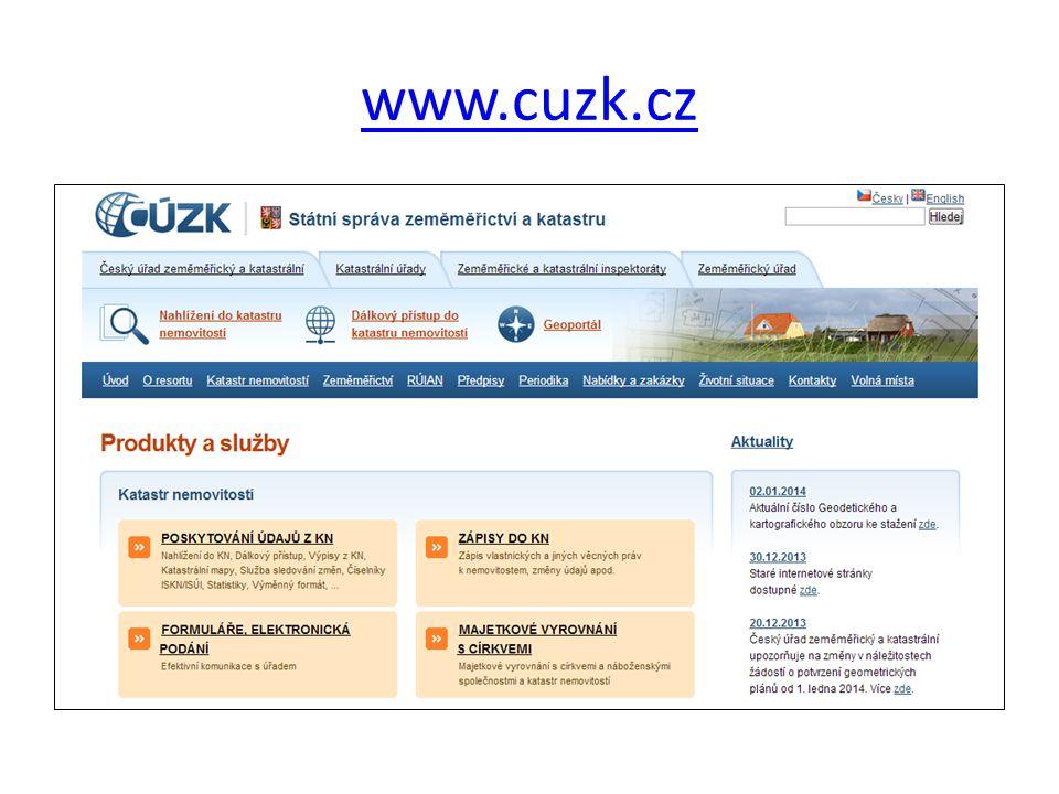 www.cuzk.cz