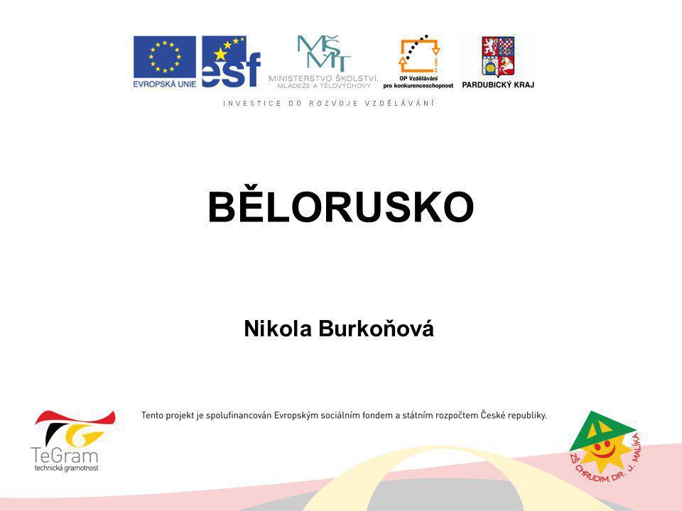 BĚLORUSKO Nikola Burkoňová