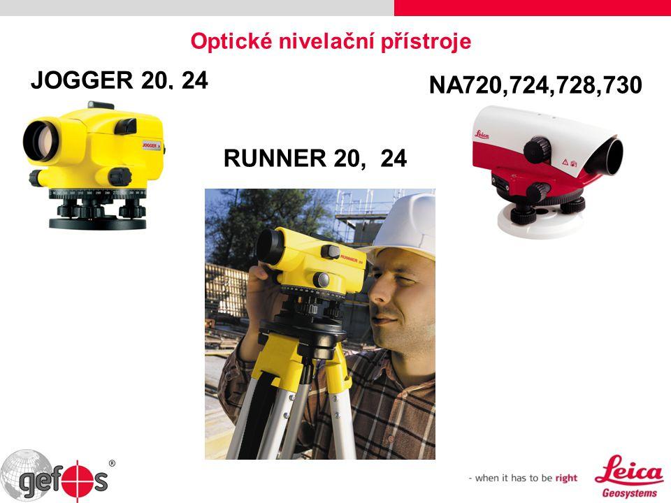 JOGGER 20, 24 Optické nivelační přístroje RUNNER 20, 24 NA720,724,728,730