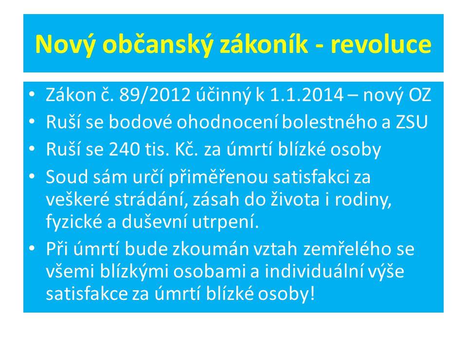 Nový občanský zákoník - revoluce Zákon č.