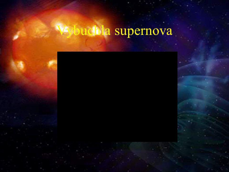 Vybuchla supernova