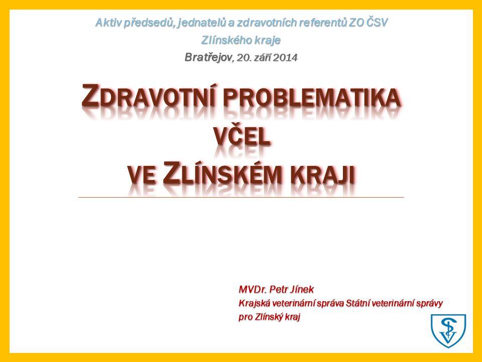 Aktiv předsedů, jednatelů a zdravotních referentů ZO ČSV Zlínského kraje Bratřejov, 20.