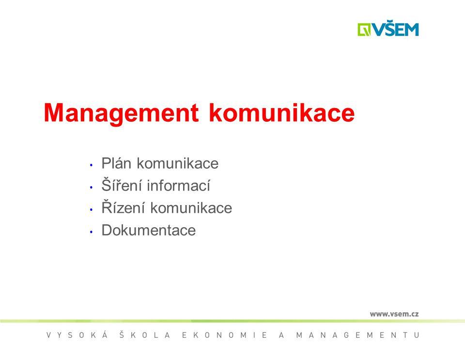 Sestavení projektového týmu  Manažer musí sestavit popisy pozic – jednoznačné vymezení nároků na členy týmu –matice odpovědnosti (RAM)  Hlavní fakto