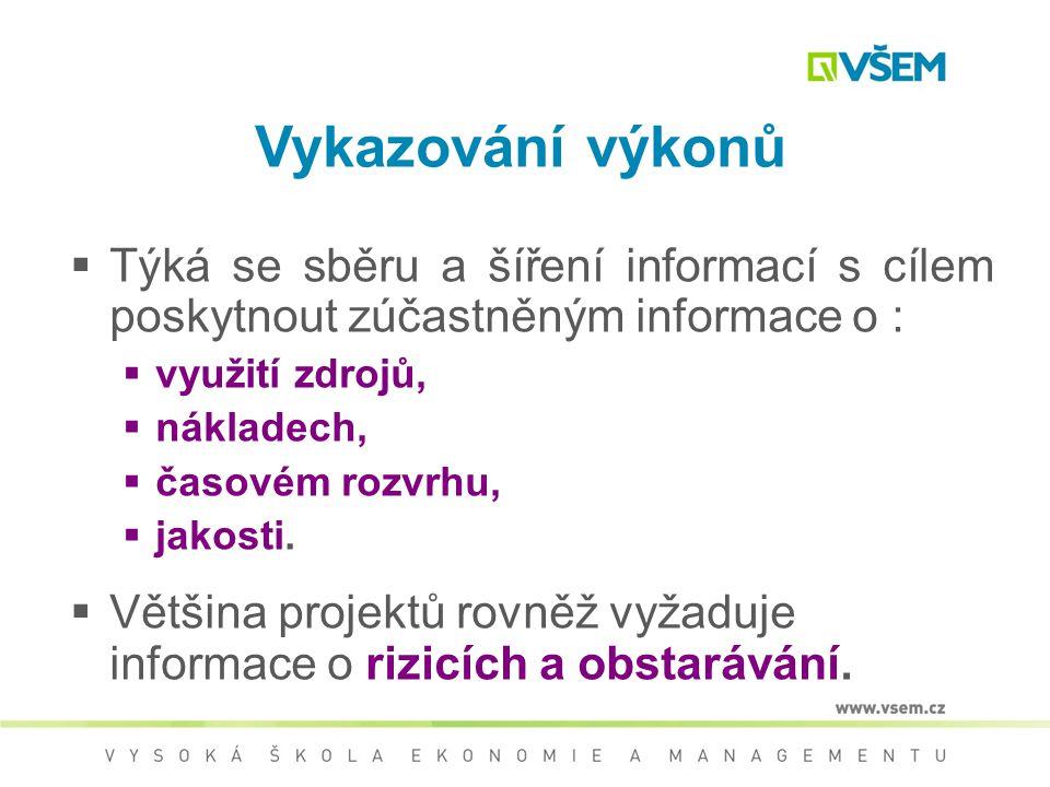 Dodávání informací Informace pro řízení musí být  Včasné  Úplné  Přesné  Srozumitelné  Relevantní Odesilatel odpovídá za tvorbu pravdivých, jedno