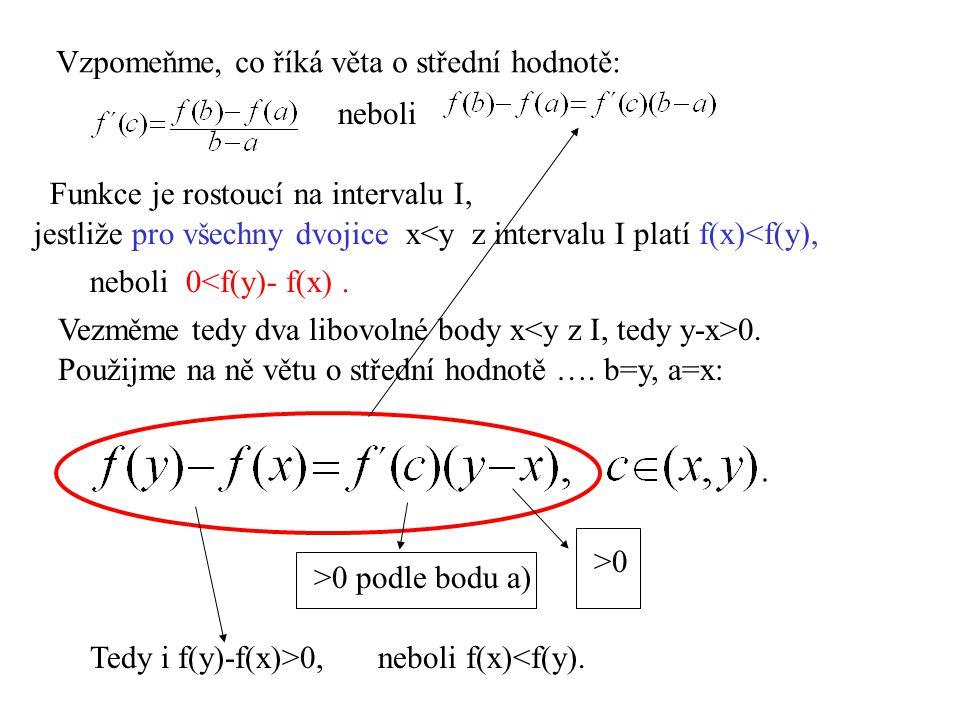 Příklad.Rozhodněme, zda má funkce na svém D(f) inflexi.