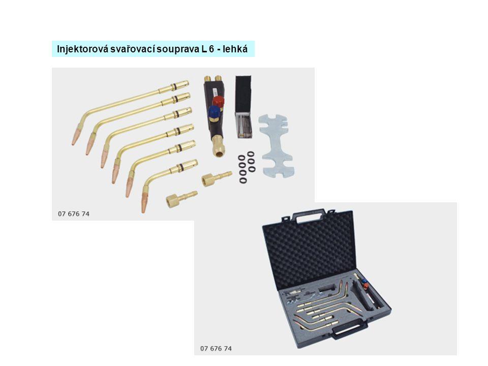 Injektorová svařovací souprava L 6 - lehká